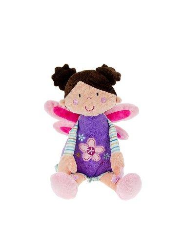 Adorable muñecas de trapo hada de peluche lila de 31 cm