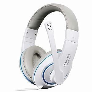 KARTELEI Gaming Kopfhörer Surround Sound Ergonomie Wired Headset für PC, Xbox One, PS4, Nnintedo Switch