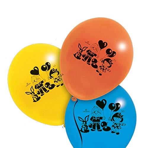 0.17 Miniatur (Pegaso 001412.17 Ball Large, versch. Farben, 35 cm, 100 Stück)