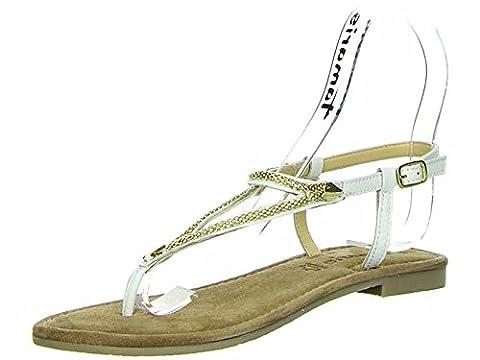 Tamaris Da.-Sandalette Größe 39 Weiß