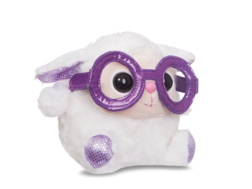Aurora World 73800 - Gumdrops Meringue Lamm mit Cooler Nerd Brille 5In/12.5 cm