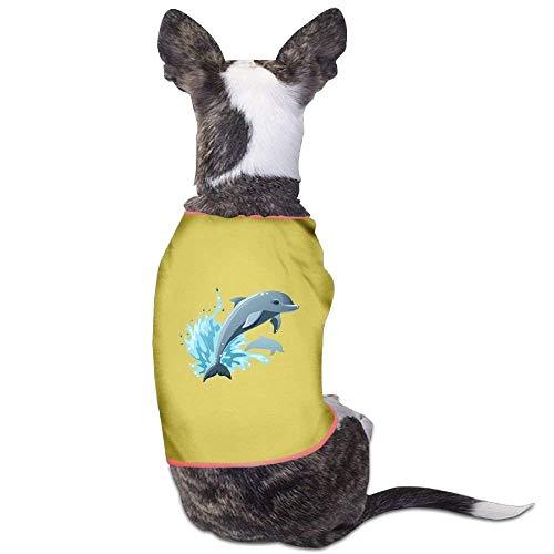 Hunde Delfin Kostüm - GSEGSEG süßes Delfin-Kostüm für Hunde und Katzen, aus Polyester