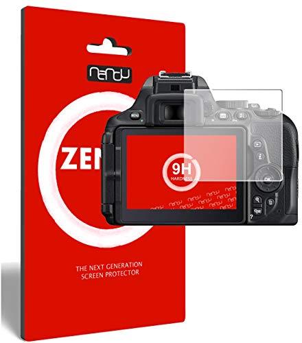 ZenGlass (2 Stück) Flexible Glas-Folie für Nikon D5600 Panzerfolie I Display-Schutzfolie 9H