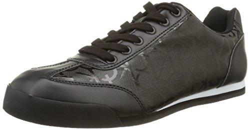 Calvin Klein Cale Matte Smooth/Rub Ck Logo, Sneaker basse uomo, colore nero, taglia 44