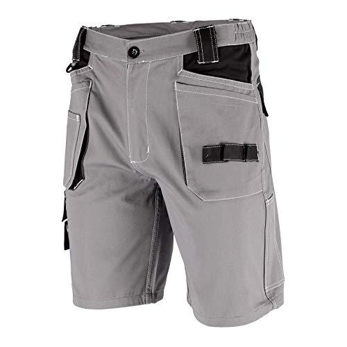 Krexus Pantaloncini da Lavoro Corti Uomo Grigio/Nero Taglia L