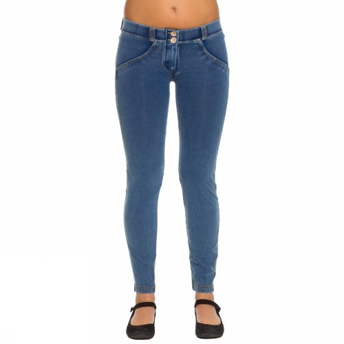 FREDDY Pantalone Donna WR.UP 7/8 Effetto Push-Up (XS)
