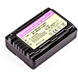 Batterie compatible pour Panasonic HC-V110, HC-V110GK, HC-V110K, HC-V110P, HC-V110P-K, HC-V201