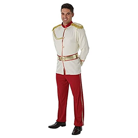 Adultes Disney Costumes - Rubie's 810942 x l officielle Disney Prince Charmant