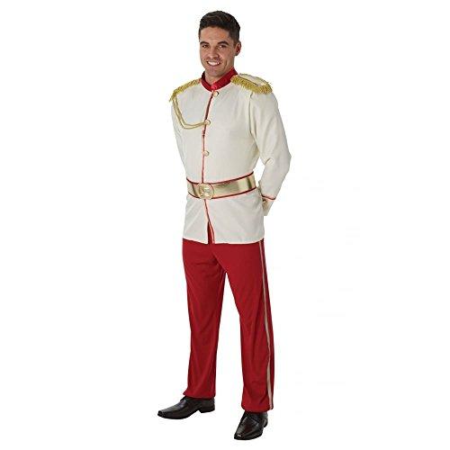 Rubie's - Costume da uomo ufficiale principe azzurro Disney, per adulti – taglia XL