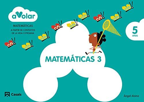 Matemáticas 3. 5 años. ¡A volar! - 9788421855652