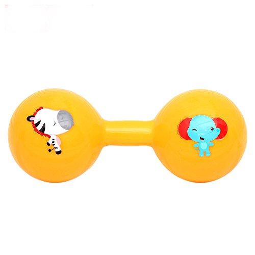 Heylookhere Nettes Spielzeug Kinder Pädagogische Bunte Sensorische Weiche Glocke Klingel Rassel Hantel Kinder Funnny Spielzeug Geschenk