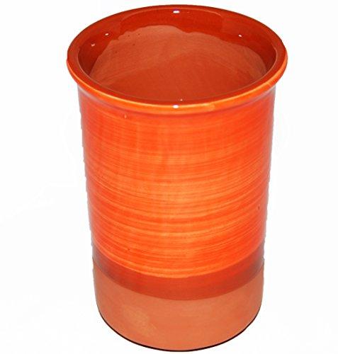 Spanischen Stil Weinkühler Keramik (orange)
