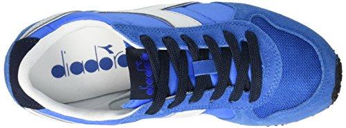 Diadora Unisex-Erwachsene K_run Trainingsschuhe, Grün Multicolore (C6069 Blu Micro/Blu Tuareg)