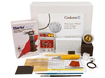 Edelmetalle Clay Super Starter Kit, 855 049) (Silber Art Clay)