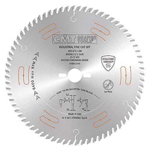 CMT Orange Tools 285,680,10 hw M scie circulaire 250 x 30 x 3,2/2,2 z80 5atb Chromé