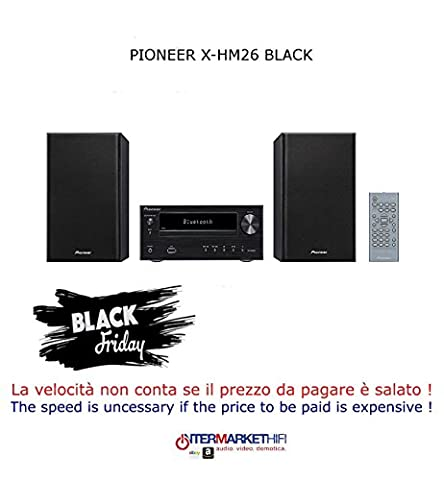 Pioneer x-hm26 Home Audio Micro System 30 W Black – Home Audio Sets (Home Audio Micro System, Black,