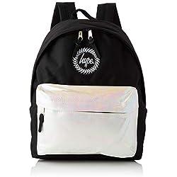 HYPE - Pearlescent Pocket, Mochilas Unisex adulto, Multicolor (Black/White), 30x41x15 cm (W x H L)