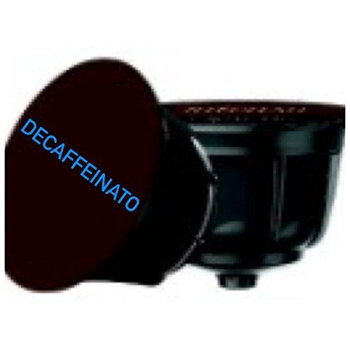 96 capsule caffè miscela DECAFFEINATO compatibili Nescafè Dolce Gusto