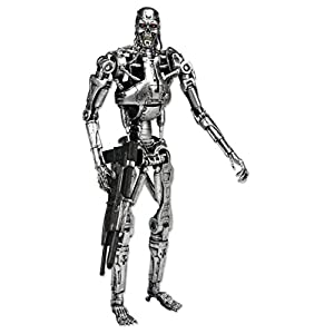 NECA 7 Pulgadas clásico Terminator Endoesqueleto Figura en Las Figuras de Ventana de acción - Figura Terminator T-800… 2