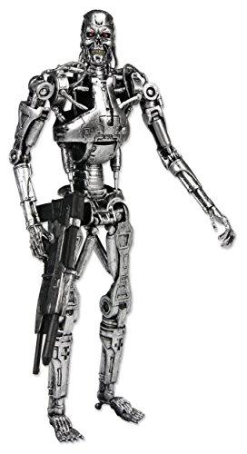 NECA 7 Pulgadas clásico Terminator Endoesqueleto Figura en Las Figuras de Ventana de acción - Figura Terminator T-800… 1