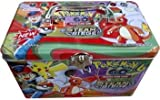 Pokemon Steam Seige Rumble Blast Tin with EX gx Cards (Multicolor)
