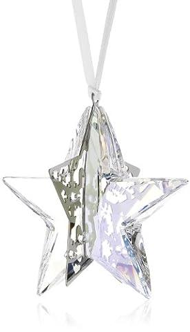 Swarovski Figurine Weihnachtsornament Stern Crystal Moonlight 56 x 57 cm 1140007 (Deko-Artikel)