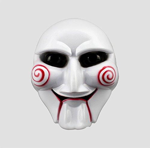 Loved&Found Maskerade Jig Saw Killer Maske Halloween Karneval Terrormaske