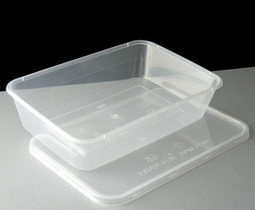 25x 500ml Kunststoffbehälter für Speisen & Schnappdeckel - Spülmaschinenfest/Gefrierschrank/Mikrowelle