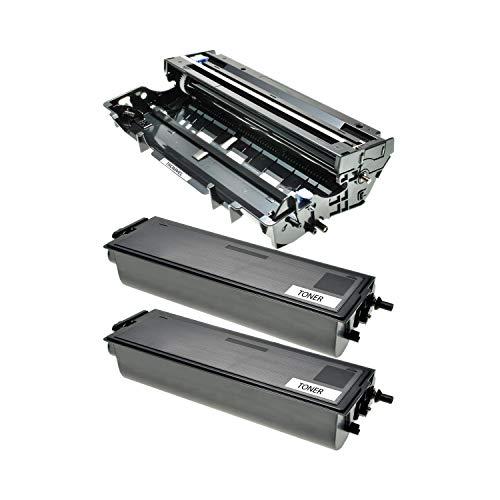 Logic-Seek 2 Toner + Trommel kompatibel für Brother TN-7600 XL DR-7000 DCP-8020 D DN HL-1600 1630 1640 1650 1670 1850 5030 5040 5050 DX E NE NTR PS DN N NLT Series LT MFC-8420 D DN - Ps/2-serie