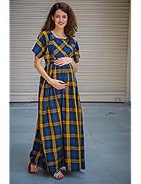 0cb551af9c MOMZJOY Maternity Dresses Online  Buy MOMZJOY Maternity Dresses at Best  Prices in India - Amazon.in