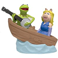 Muppets Kermit & Miss Piggy in Boat Magneteic Salt & Pepper Shakers