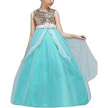 Niña Princesa Vestidos Largos De Fiesta De Noche Elegantes Para Bodas