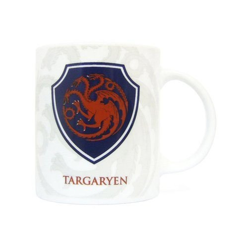 SD Toys Game of Thrones mug blason 3D Targaryen noir