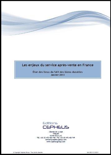 Les enjeux du SAV en France 2013