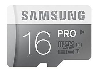 Samsung Memory 16GB PRO MicroSDHC UHS-I Grade 1 Class 10 Speicherkarte Memory Card ohne Adapter (B00J297ZQC) | Amazon price tracker / tracking, Amazon price history charts, Amazon price watches, Amazon price drop alerts