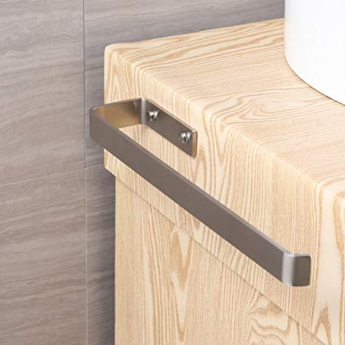Handtuchhalter Edelstahl Wandmontage Handtuchstange Bad und Küche, Gebürstet Schrankmontage 38 cm