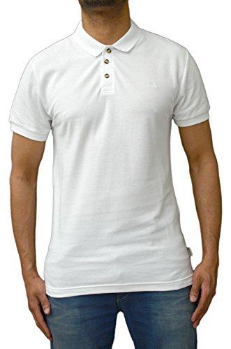 Bellfield Herren Poloshirt Gr. Small, Weiß
