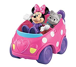 Fisher Price - Minnie Avec Son Chat Et Sa Voiture