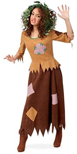Damenkostüm Waldhexe Karneval Fasching Halloween Hexenkostüm für Frauen, Gr 38 - 44 (40)