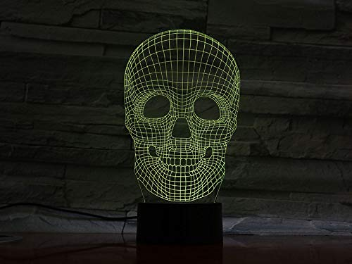 Nuovi fari Regalo di Halloween Mood Colorful Fear Theme Haunted House Decoration Luce notturna Stage Light Lighting Falling Boat