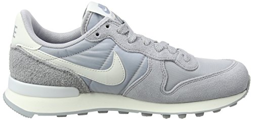 Nike Internationalist, Sneaker Donna Multicolore (Wolf Grey/summit White/summit White/sail 023)
