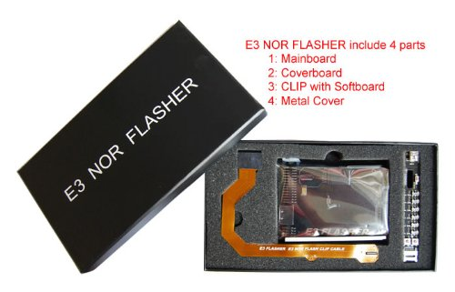E3 NOR Flasher (NOR Programmer)