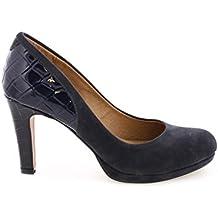 MARIA MARE - 61001 - Zapato salón cerrado mujer - Talla: 38 - Color: Azul