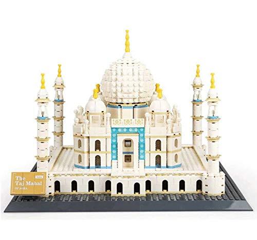 WANGE Taj Mahal Agra. Modelo Arquitectura armar Bloques
