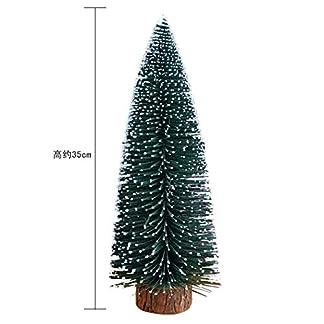 WUFANGFF Decoraciones Decoraciones De Navidad Cedro Blanco Árbol De Navidad Mini Visualización De La Ventana De Escritorio