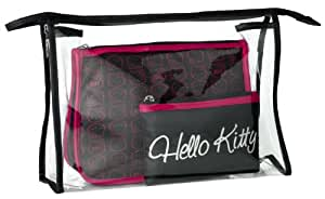 Hello Kitty - 616614BM9U - Set de 3 trousses de toilette Signature Glam