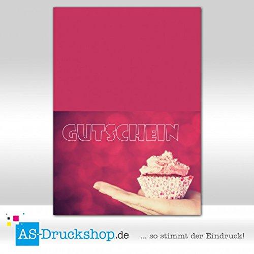 Gutschein Bäckerei Sweet / 50 Stück/DIN A6