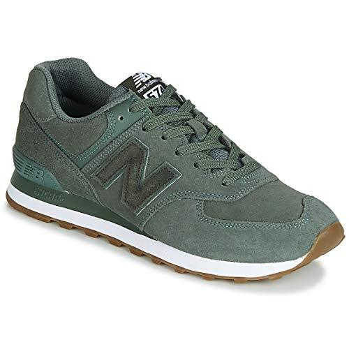 New Balance Herren ML574 D Sneaker, Grün Green, 46.5 EU