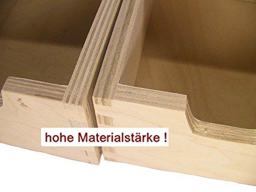 preisvergleich stabiles schubladen regal wandregal mit 4 willbilliger. Black Bedroom Furniture Sets. Home Design Ideas