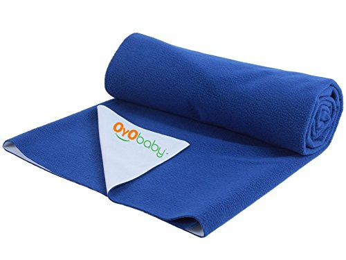 OYO BABY - Quickly Dry Sheet/Cot Mattress Protector Mat/Crib Sheets...